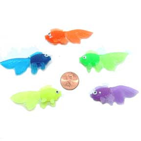 vinyl fish small toy fish