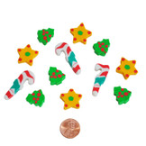 Mini Holiday Erasers