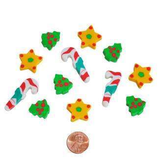 Mini Holiday Erasers