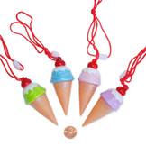 Ice Cream Bubble Bottle Necklace