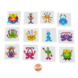 Monster Removable Tattoos