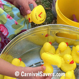 FREE Matching Ducks Carnival Game Idea