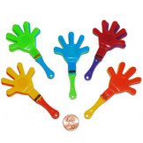 Mini Hand Clappers (96 total hand clappers in 2 bags) 10¢ each