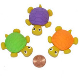Turtle Erasers (24 total erasers in 2 bags) 35¢ each