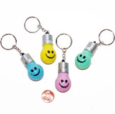Plastic Smile Face Light Up Key Chain (12/package) 54¢ each