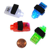 Colorful Finger Flashlights (24 total flashlights in 2 bags) 65¢ each