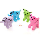 Stuffed Colorful Cats (24 total stuffed cats in 2 bags) $1.19 each