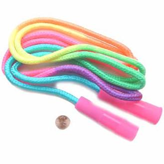 Rainbow Nylon Jump Rope