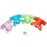 Flashing Squishy Frogs (24 total flashing frogs in 2 bags) $1.27 each