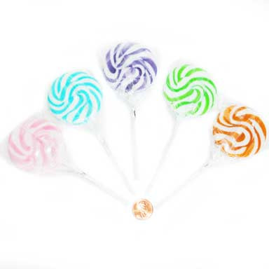 Assorted Swirl Lollipops Candy to buy