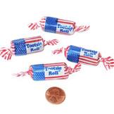 Patriotic Tootsie Rolls (140 total tootsie rolls in 2 bags) 5¢ each