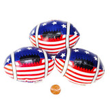 Stars and Stripes Foam Footballs