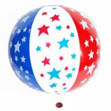 Patriotic Beach Ball (24 total balls in 2 bags) 77¢ each