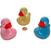Multi Colored Floating Ducks for Carnival Games
