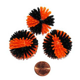Black and Orange Porcupine Ball