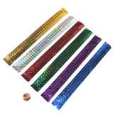 Metallic Slap Bracelets