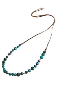 Dayna Beaded Necklace with Jasper