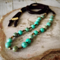 Seascape Beaded Necklace