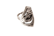 Silver Pinnacle Ring