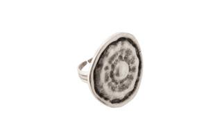 Silver Poppy Ring