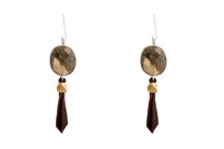 Gavin Labradorite Tassle Earrings