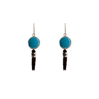 Gavin Howlite Tassle Earrings