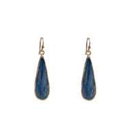 Kyanite Teardrop Earrings