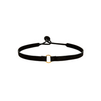 Riley Suede Choker in Bat