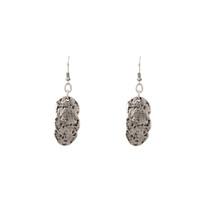 Silver Comet Earrings