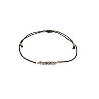 Maiori Delicate Silver Pyrite Bracelet