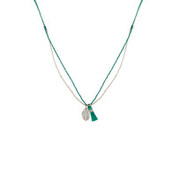 Minori Delicate Aquamarine Necklace