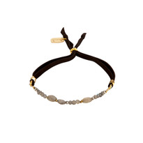 Leda Labradorite Adjustable Slide Bracelet