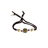 Lila Labradorite Adjustable Slide Bracelet