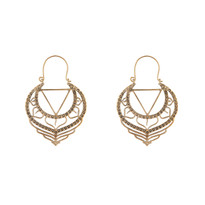 Johannes Earrings in Gold