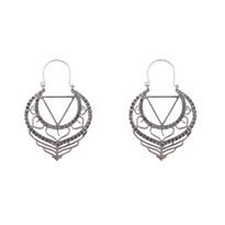 Johannes Earrings in Silver
