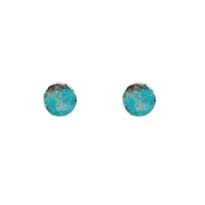 Turquoise Agate Studs