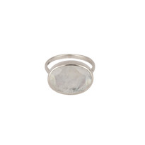 Bisoux Gem Ring with Moonstone