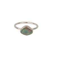Bodie Gem Ring with Opal