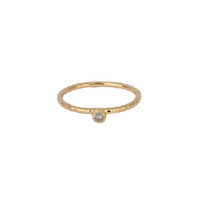 Elle Gem Ring in Gold
