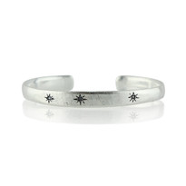 Shining Star Cuff In Silver