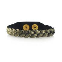 Magic Braid Bracelet in Black Shimmer