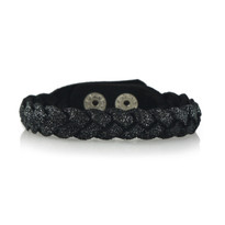 Magic Braid Bracelet in Charcoal Shimmer