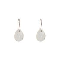 Drop Earrings in Moonstone and Silver