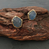 Prism Labradorite Post Earrings