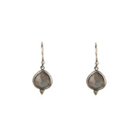 Kasbah Labradorite Earrings in Silver