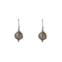 Kasbah Labradorite Earrings in Silver