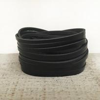 Sliced Wrap Bracelet In Black
