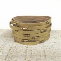 Stargazer Wrap Bracelet In Gold Shimmer