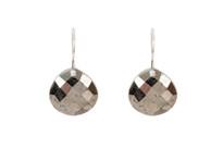 Dream Drop Earrings in Pyrite