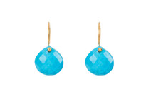 Dream Drop Earrings in Turquoise